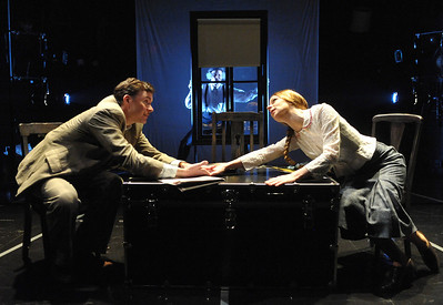 No one is safe as Olney Theatre Center presents THE 39 STEPS.  Photo Credit: Stan Barouh