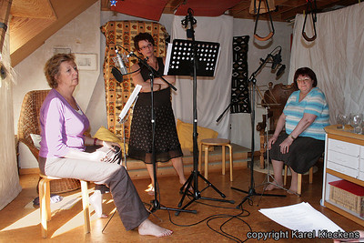 036. v.l.n.r.: Karin: Keiningin, Ingrid: Anna, Monique: Hertogin.