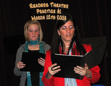 Readers Theater Practice #1 3-12-08