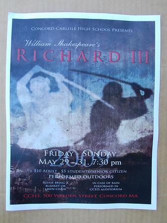 Richard III: Performances