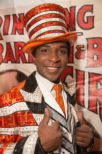 Andre McClain is the ringmaster of the circus