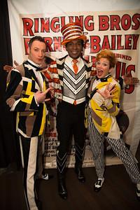 Alex Emelin Andre McClain, ringmaster of the circus Irina Emelin