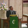 Jim Coppens Memorial Service, August 24, 2010.<br /> Dick Currey, South Bend Civic Theatre.