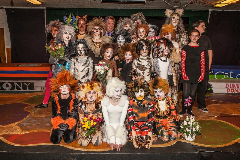Santa Cruz Performing Arts Production of Cats-Show Pictures 2012-202