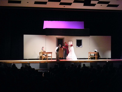 "Schuylkill Valley students performed ""A Christmas Carol"" at Schuylkill Valley High School."