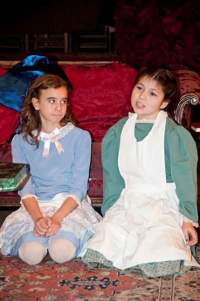 Sara Crewe at age 10: Melissa Tucker and Becky: Mary Madison England