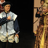 Walt Hester   Trail Gazette<br /> Finn Tomasula-Martin as Sebastian, woos Baily Ash as Olivia in Twelfth Night. Flexability was the key for the young Soggy Noodles actors as they were asked to play three or somtimes four different characters for the show.