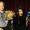 Walt Hester   Trail Gazette<br /> Ted Dumont is all three of the Weird Sisters to Will Thomas' MacBeth on Friday. Dumont was also a narrator in the production.