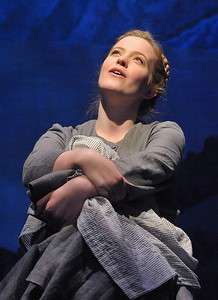 Jessica Lauren Ball as Maria in Olney Theatre Center's production of THE SOUND OF MUSIC. (Photo Credit: Stan Barouh)