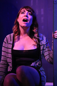 Sarah Porter as Emma in Andrew Lloyd Webber's TELL ME ON A SUNDAY, New Line Theatre, 2016. Photo credit: Jill Ritter Lindberg.