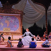 Eileen Ward (as Anna) and the cast of Olney Theatre Center's production of THE KING AND I. (Photo: Stan Barouh)