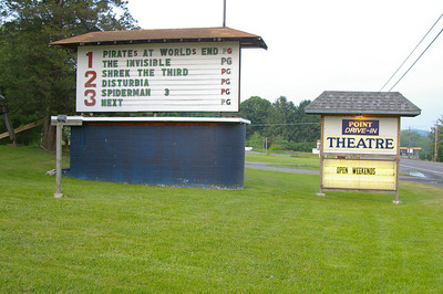 This is one of the last of Pennsylvania's outdoor Drive-In Theatres