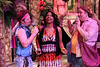 "MIke Dowdy as Speed, Jeanitta Perkins as Julia, and Joel Hackbarth as Launce in New Line Theatre's ""Two Gentlemen of Verona."" Photo credit: Jill Ritter Lindberg"