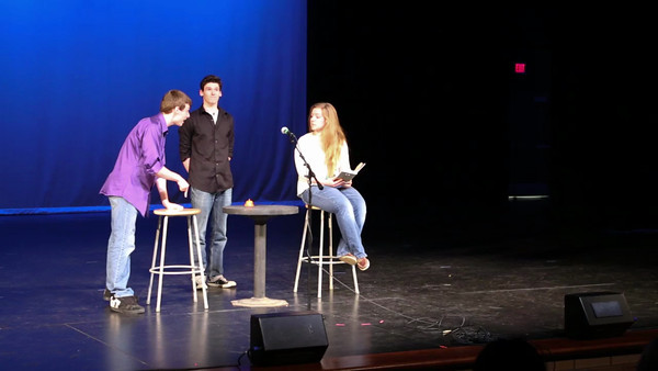 Link to the PLHS Talent Show skit with Matt, Maddie, and Eric.
