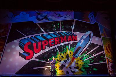 Superman print size-6