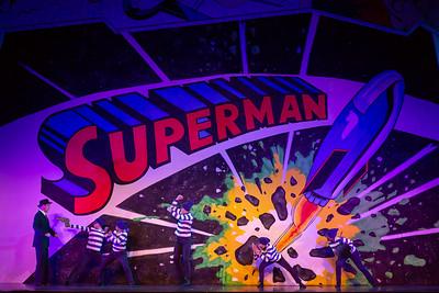 Superman print size-11