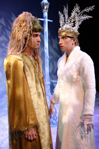 Aslan and The White Witch