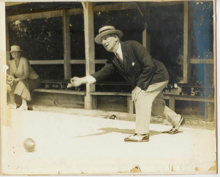 Francis Wilson Bowling