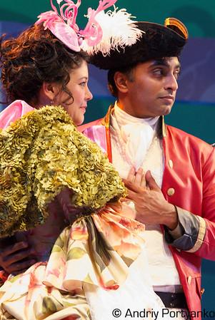 Zoe Winters* Lydia Languish, Manu Narayan* Captain Jack Absolute