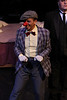 Jeffrey Pruett as Burrs in New Line Theatre's THE WILD PARTY. Photo credit: Jill Ritter.