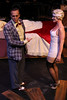 Jeffrey Pruett as Burrs and Margeau Baue Steinau as Queenie, in New Line Theatre's THE WILD PARTY. Photo credit: Jill Ritter.
