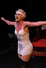 Margeau Baue Steinau as Queenie, in New Line Theatre's THE WILD PARTY. Photo credit: Jill Ritter.
