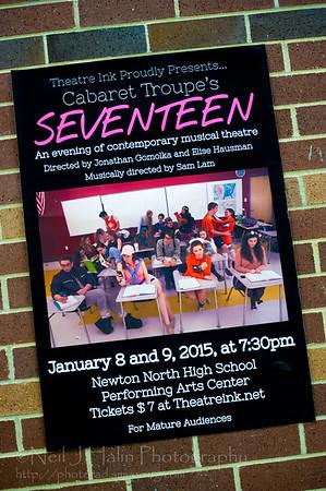 Cabaret Troupe 2015 - Seventeen