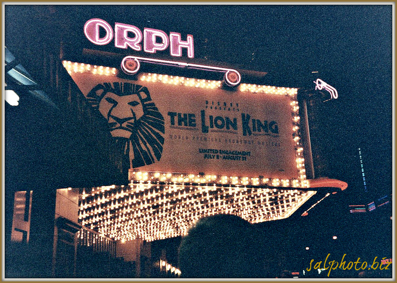 """*pic taken back in the summer of 1997 with family as my treat to them (only $60/ticket)<br /> <br /> Stage Door: Exclusive Photos- Disney's The Lion King 1997 World Premiere <br /> <a href=""""http://youtu.be/tbloIma6lTQ"""">http://youtu.be/tbloIma6lTQ</a><br /> <br /> Disney-style 'Lion King,' playing at Orpheum and unupdated, still can roar<br /> By Dominic P. Papatola<br /> Special to the Pioneer Press<br /> Posted:   01/14/2012 12:01:00 AM CST<br /> Updated:   01/14/2012 11:10:22 PM CST<br /> <a href=""""http://www.twincities.com/stage/ci_19744622"""">http://www.twincities.com/stage/ci_19744622</a><br /> Do all of that and you're likely to find that """"The Lion King"""" - which premiered at Minneapolis' Orpheum Theatre in 1997 before becoming a Broadway smash - still does pretty well in the face of passing time and trends. <br /> <br /> <br />  Tickets: $139 to $30<br /> <br /> Information: 800-982-2787<br /> <br /> Capsule: Almost 15 years after its first appearance in the Twin Cities, the Disney musical still has its roar.<br /> <br /> Disney's The Lion King - Orpheum Theatre - Minneapolis <br /> <a href=""""http://youtu.be/Tn7uPxKU8HQ"""">http://youtu.be/Tn7uPxKU8HQ</a><br /> <br /> <br /> Disney's The Lion King Roars Back Into Town<br /> <a href=""""http://www.hennepintheatretrust.org/feature/insider/disneys-lion-king-roars-back-town"""">http://www.hennepintheatretrust.org/feature/insider/disneys-lion-king-roars-back-town</a><br /> """"...The Lion King confirmed Minneapolis as a savvy theatre city with top Broadway engagements. Now, 15 years after opening here, the charm is still strong and Minneapolis will be the first city in North America to host this inspiring production for a fourth time!<br /> <br /> When the multiple Tony Award-winning musical played at the Orpheum in 2007, the Pioneer Press said, """"The first five minutes of the show remains among the most jaw-dropping moments in all of theater."""" This time through the cast features two actors with local connections in prominent roles"""