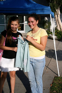 Joelle-Annie 00 and Brianna Annie 03, reminise about the dress they wore in Annie...the same dress