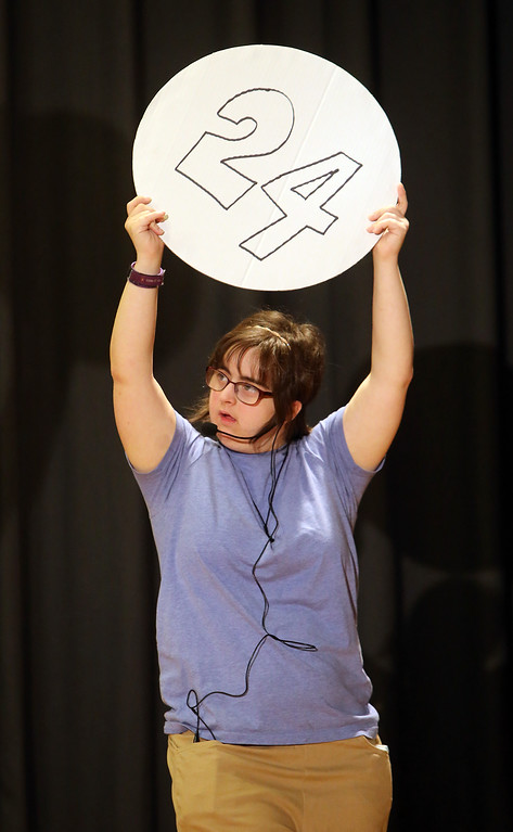 . Valley Collaborative Transitional High School students perform School House Rock Live! Jr. musical. (SUN/Julia Malakie)