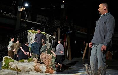 Loftopera's Macbeth by Verdi at MAST Chocolate Factory Brooklyn Navy Yard
