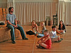 "Eric Kunze rehearsing ""The Tribe"" w/ Andrea Ross, Nadine Jacobson, Sarah Safer, Austin Zambito-Valente & Justine Magnusson"