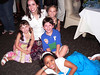 Dance Captain Elizabeth Early surrounded by some of our touring kids Sarah, Olivia, Jake & Nadine