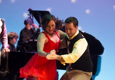 Dorea Schmidt and Nick Lehan SHALL WE DANCE?