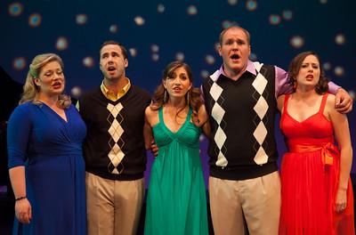 Maria Egler, Nick Lehan, Emily Levey, Scott Russell and Dorea Schmidt IT'S A GRAND NIGHT FOR SINGING