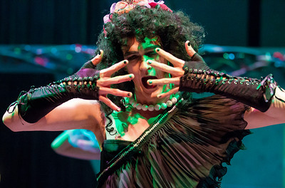 Ryan Patrick Welsh as mad scientist Frank N Furter