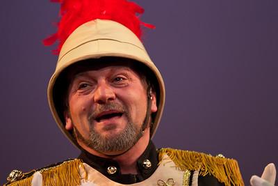 Scott Kenison as the Major-General