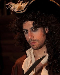 Adam Juran as the Pirate King