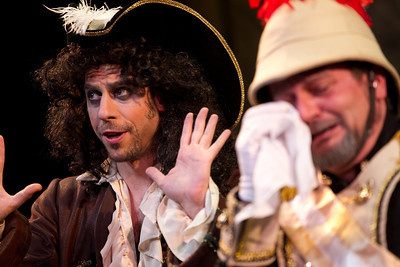 Adam Juran as the Pirate King Scott Kenison as the Major-General