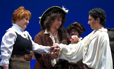 Jean Cantrell as Ruth Adam Juran as the Pirate King Ben Lurye as Frederic
