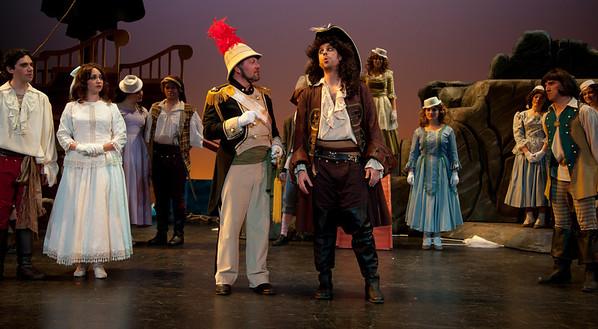 Adam Juran as the Pirate King Scott Kenison as the Major-General