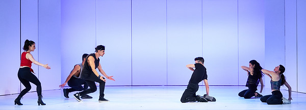 Jan. 27, 2020 - New York, NY   The Guggenheim Museum's Works and Process program presents West Side Story with Ivo van Hove and Anne Teresa De Keersmaeker.  Tony Award winner Ivo van Hove directs a new production that features all-new choreography by the internationally acclaimed Anne Teresa De Keersmaeker. Prior to its February 6 opening, audience members are invited behind the scenes as van Hove and De Keersmaeker participate in a moderated discussion and cast members perform highlights.  Moderator Peter Marks  Cast- Isaac Powell Dharon E. Jones  Armando Eleazar Yes Garcia Jarred Manista Paul Morland Madison Vomastek Bridget Whitman   Photographer- Robert Altman Post-production- Robert Altman