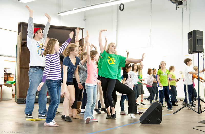 Jitterbug Dance Rehearsal for KCMT's The Wizard of Oz>