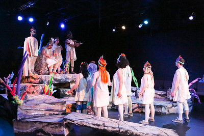 """The company sings """"You Are My Children"""" in YEAST NATION, New Line Theatre, 2018. Photo credit: Jill Ritter Lindberg."""
