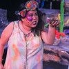 Jan-the-Sly (Grace Langford) finds the Muck, in YEAST NATION, New Line Theatre, 2018. Photo credit: Jill Ritter Lindberg.