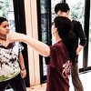 "Stage Combat instructor Sayo Hanaue demonstrates proper fisticuff technique to students during the YTG ""Day of Theatre"" workshops.<br /> <br /> Would you also like to learn how to safely do combat on stage? Check out <a href=""http://yokohama-theatre.com"">http://yokohama-theatre.com</a> for more info or to enroll today."