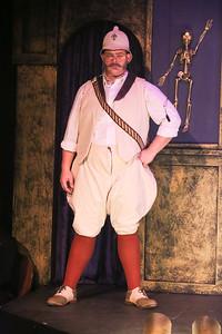 Zachary Allen Farmer as Maj-Gen Stanley,  in THE ZOMBIES OF PENZANCE, New Line Theatre, 2018. Photo credit: Jill Ritter Lindberg.