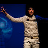 39<br /> The Yokohama Theatre Group<br /> At the Victoria Fringe, August 30 - Sept 5, 2010<br /> <br /> 39 (Andrew Woolner) explains the dangers of travel in space.
