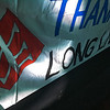 The corner of Marie Pierre's banner- the best I could get from so close.