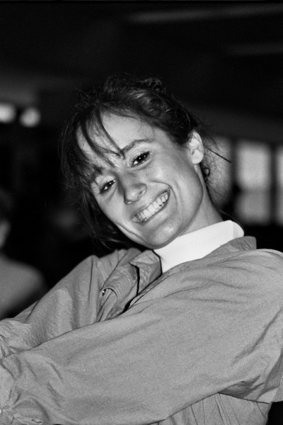 Jessica smiles for the camera